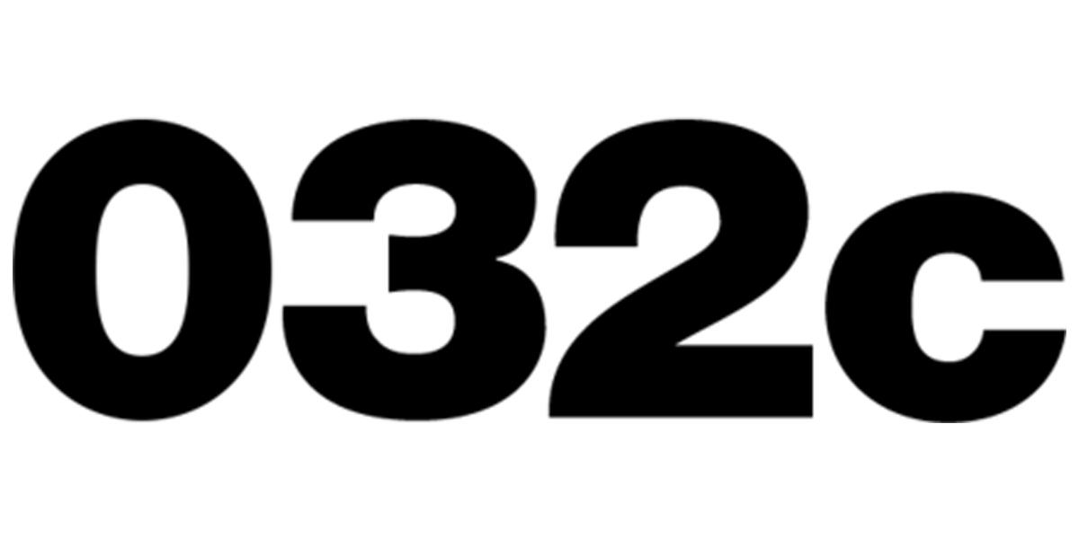 freie Plakatierung für 032c