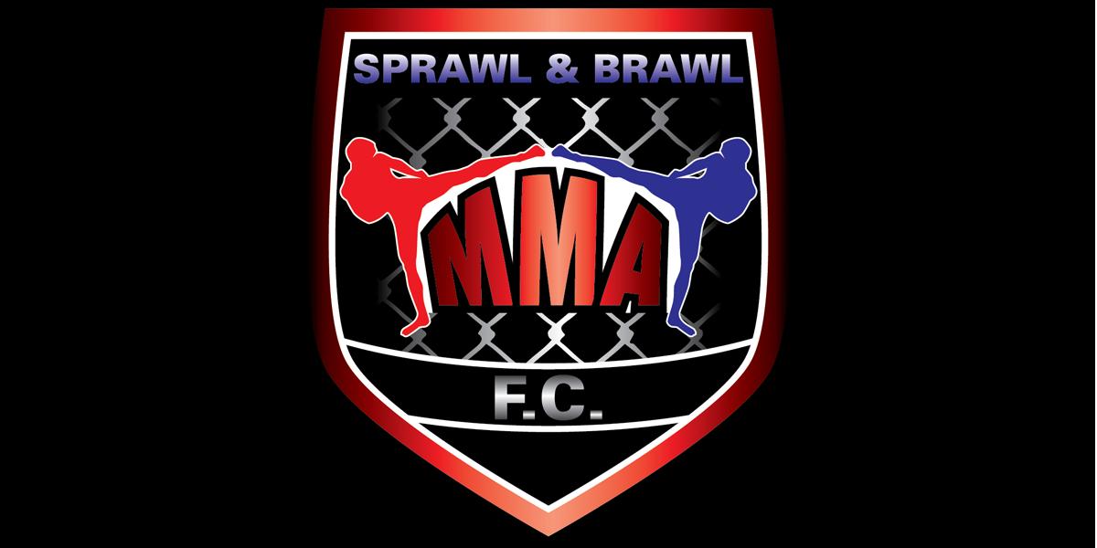 freie Plakatierung für Sprawl and Brawl MMA Berlin