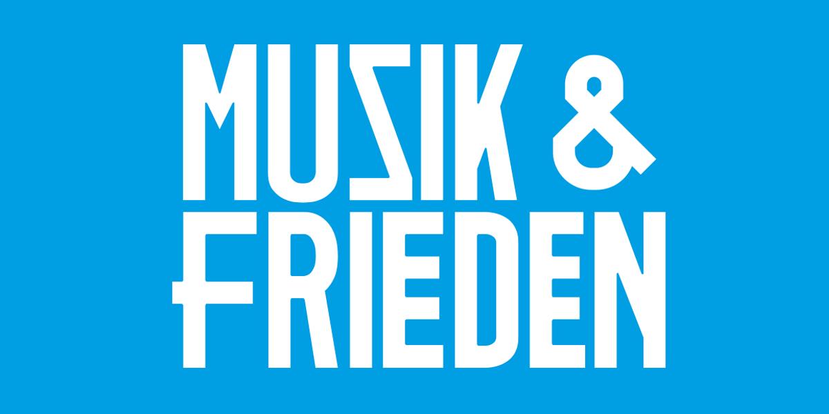 freie Pakatierung für Musik und Frieden