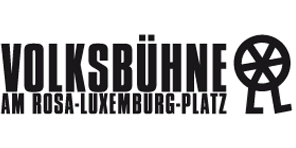 Plakataktion für die Volksbühne am Rosa-Luxemburg-Platz