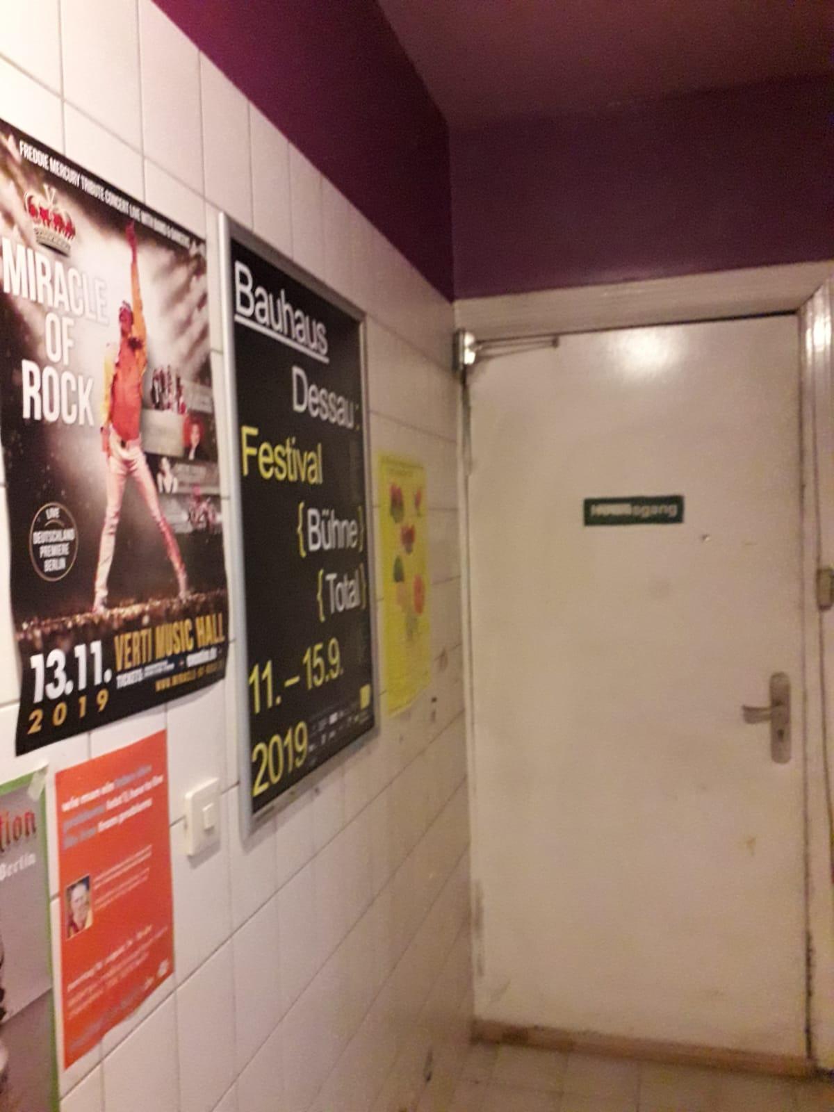 Plakatierung indoor