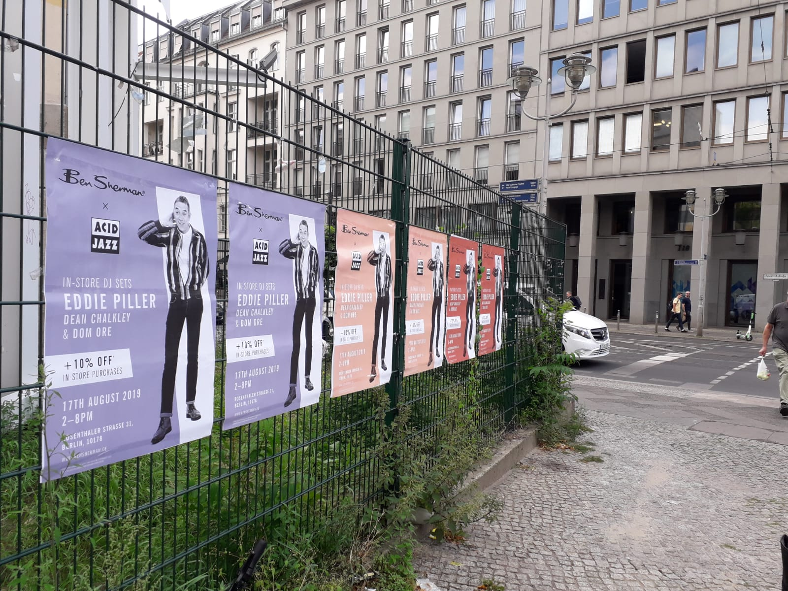 freie Plakatierung